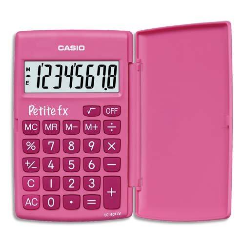 32 opinioni per CASIO LC-401LV-PK calcolatrice tascabile- Display a 8 cifre, di colore rosa