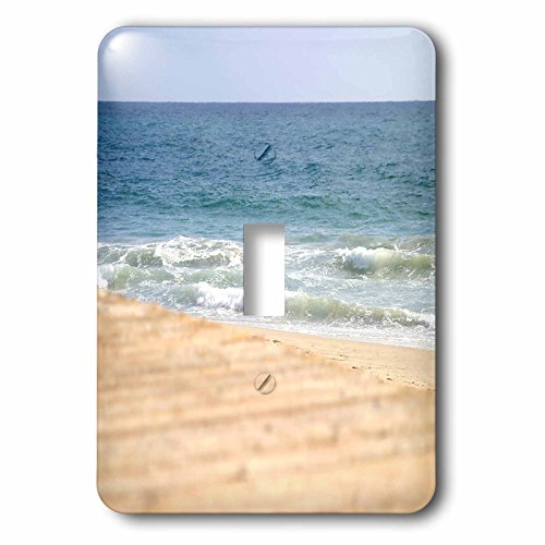 Henrik Lehnerer Designs - Nature - Boardwalk at the beach in Laguna Beach California - Light Switch Covers - single toggle switch (lsp_244446_1)