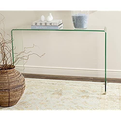 Bon Safavieh Home Collection Ambler Clear Console Table