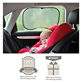 *FLASH SALE* Premium Universal Car Sun Shades | Pack Of 2 | Block UV Rays | Protect Your Children And Pets | Simple Installation | 100% Infinity Guarantee | Ideal Gift |
