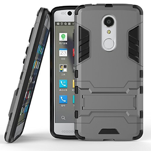 Axon 7 Mini Case with Screen protector, ZLDECO Shockproof Hard Case Cover with 1 Tempered Glass Screen Protector Protective for ZTE Axon 7 mini (5.2
