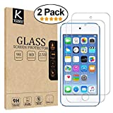(2 Pack) iPod Touch Screen Protector - KAMII Curved Edge Tempered Glass 0.2mm Ultra Thin 9H Hardness 2.5D Round Edge for Apple iPod Touch 5th / 6th Generation with Lifetime Replacement Warranty