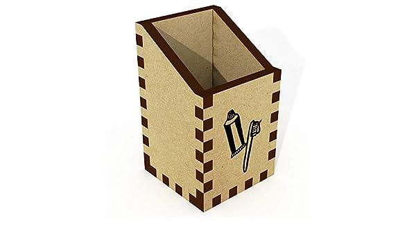 Azeeda Mini Cepillo de Dientes y Pasta Organizador de Escritorio / Lápiz Titular (DT00010542): Amazon.es: Juguetes y juegos