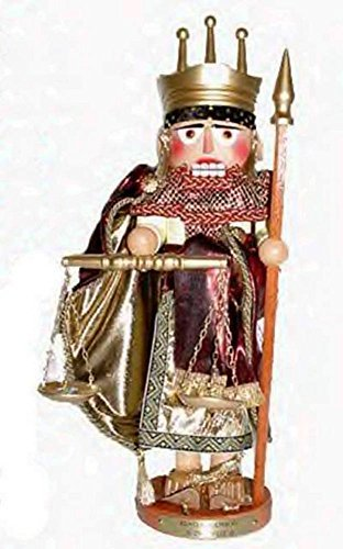 Retired Signed Karla Steinbach Nutcracker King Solomon 4th in Biblical Series ()
