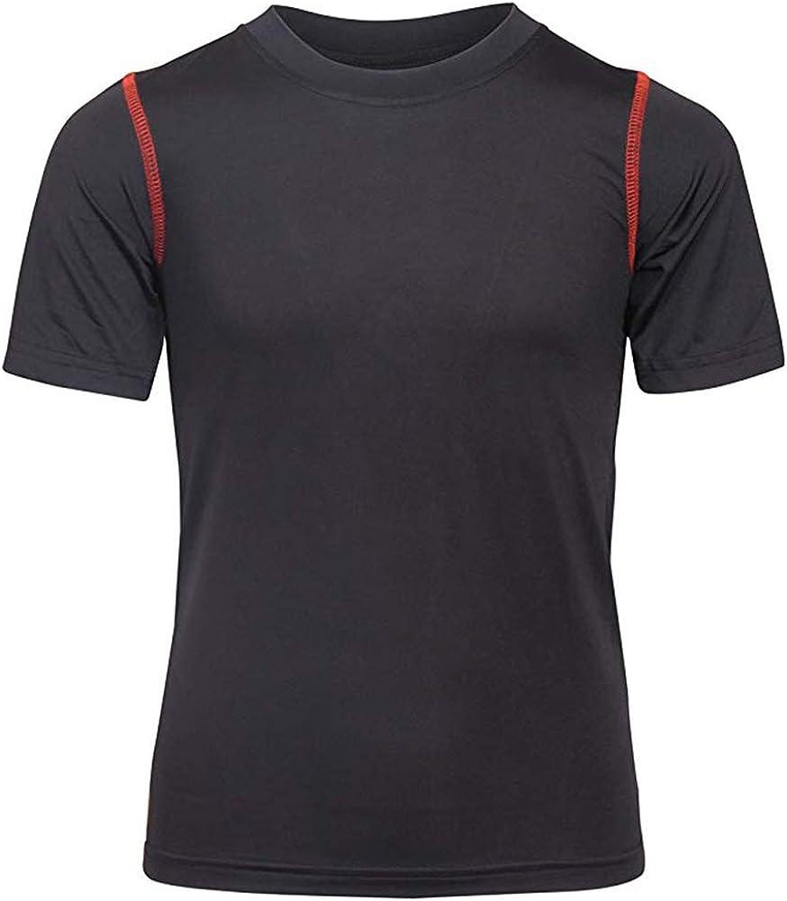 Black Bear Mens Performance Dry-Fit T-Shirts 4 Pack //Single