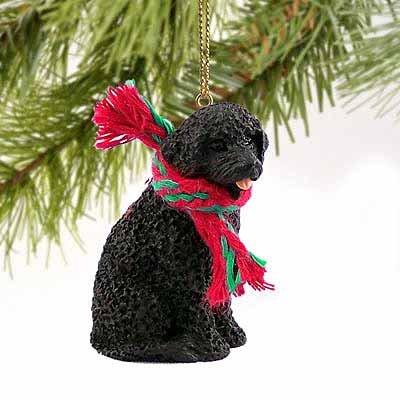 Portuguese Water Dog Miniature Ornament