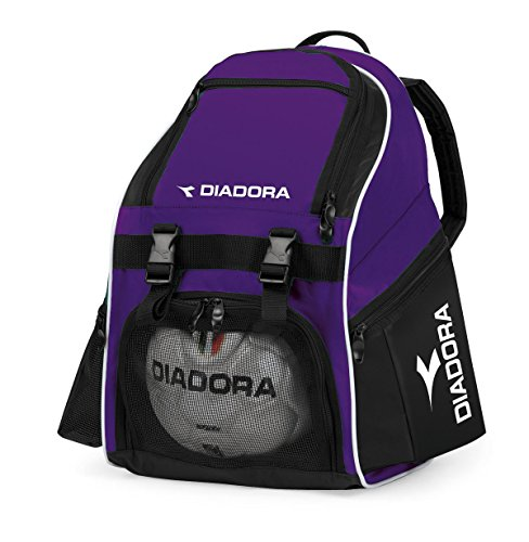 Diadora Squadra Backpack (Box of 12) (Purple/Black)
