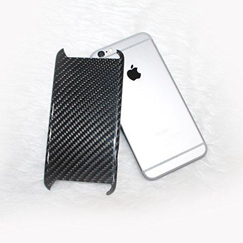 CL Carbonlife(TM) Cutting Designe iPhone 6s Plus Case C&L Glossy 3k Twill Genuine Carbon Fiber Phone Case for Apple Phone …