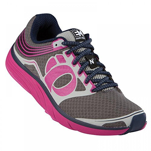 Pearl iZUMi - Run Women's EM Road N 2 Running Shoe,Shadow Grey/Berry,11...