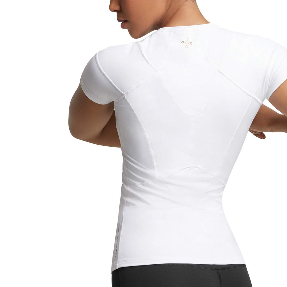 Tommie Copper Women's Pro-Grade Shoulder Centric Support Shirt, White, Small by Tommie Copper (Image #6)