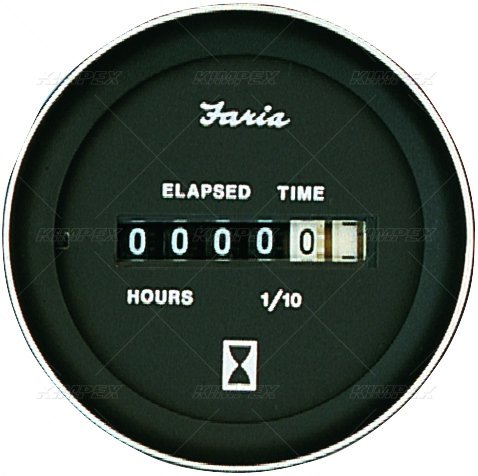 FARIA Coral Series Hourmeter