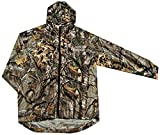 NFL Carolina Panthers Sportsman Windbreaker Jacket, Real Tree Camouflage, 5X