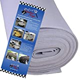 Lt Gray Auto Headliner For Dodge Caravan 3/16 Foam Backing Fabric Material 108 X 60 by Headliner Magic