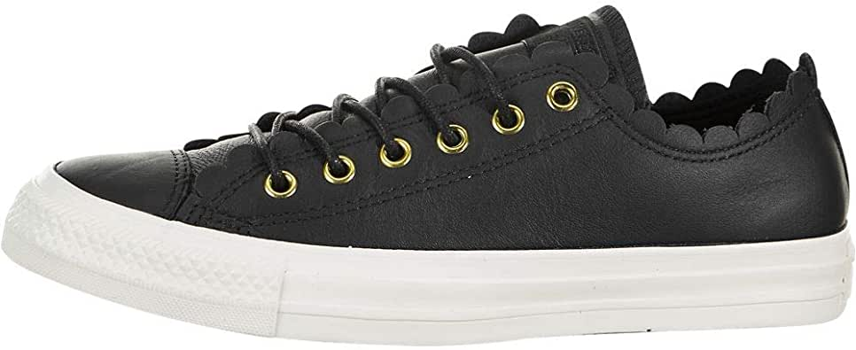 Converse Women's CTAS Low Top Frilly Thrills Fashion Sneakers