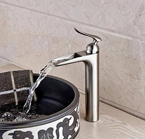 Edelstahlhahn weiße Chrombadhahnverchromtes Deck-Bad Für Warmwasser Und Kaltwasserhahn Für Mischbatterie