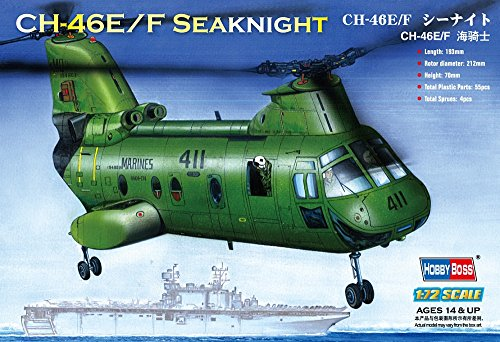 "Hobby Boss American CH-46F""sea knight"" Airplane Model Building Kit"