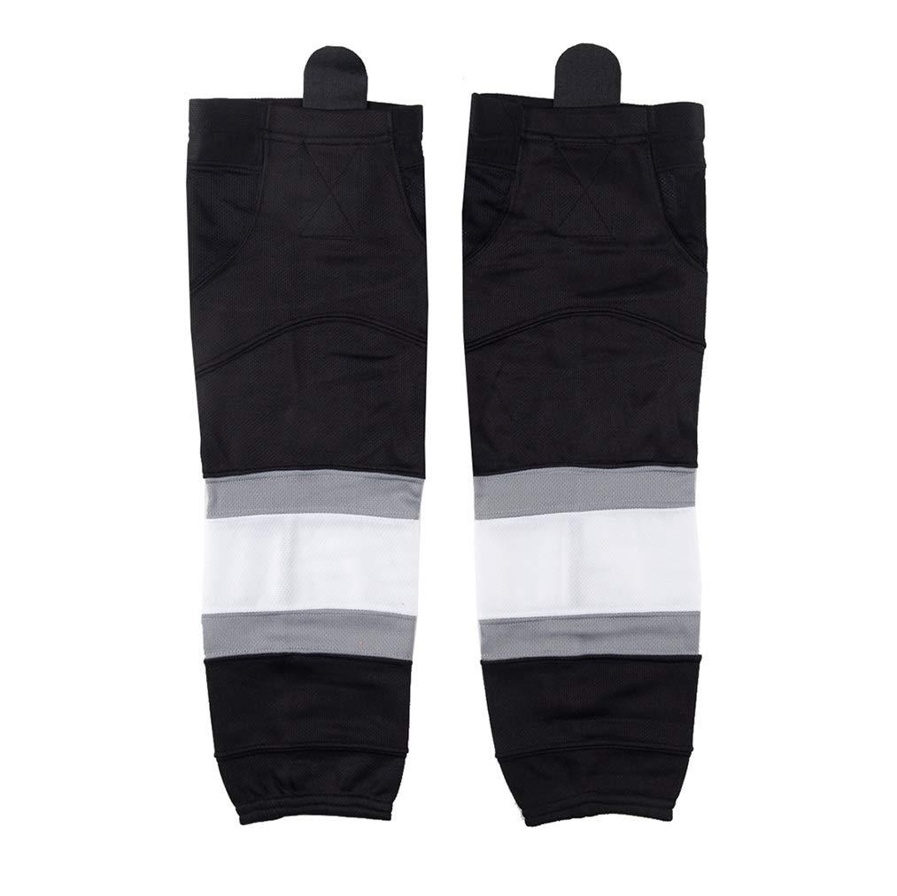 COLDINDOOR Hockey Socks Black, Adult Senior Dry Fit Ice Hockey Socks Large by COLDINDOOR