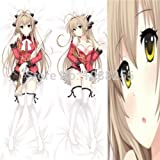 what type of anim - Personalized pillowcase HOT Amagi Brilliant Park Body pillow case150 x50cm customizPersonalized pillowcasele pillow