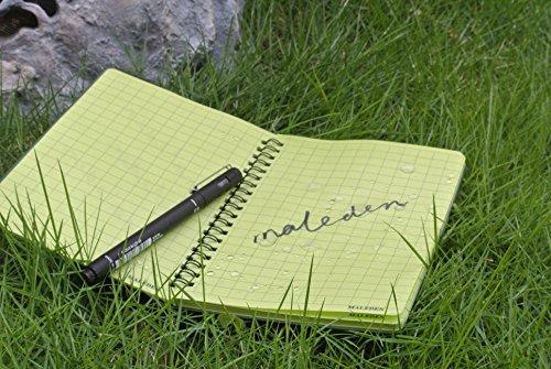 All Weather Spiral Notebooks Maleden Waterproof Steno