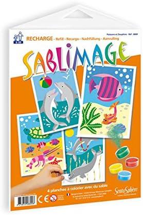 /SABLIMAGE/ /Fische und Delphine /880R/ Sentosphere Sentosph/ère/ /Nachf/üllpack/