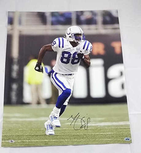 MARVIN HARRISON SIGNED 16X20 PHOTO INDIA - Indianapolis Colts Signed 16x20 Photo Shopping Results