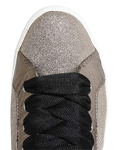 Crime Sonik Glitter Oro London Trainer Mujer pBq1Rw