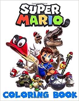 Super Mario Coloring Book Super Mario Bros Coloring Book For Kids Great Coloring Pages Ages 2 10 Mullen Kent 9781708279196 Amazon Com Books