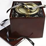 Cafe Carmellata au Sel Pecans in Wooden Gift Box (36 ounce)