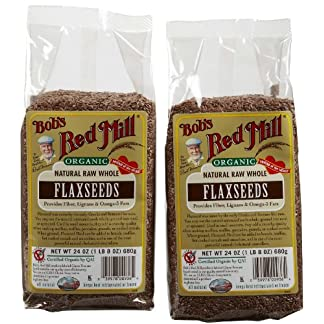 Organic Flaxseed by Bob's Red Mill, 24 oz (2 pack)