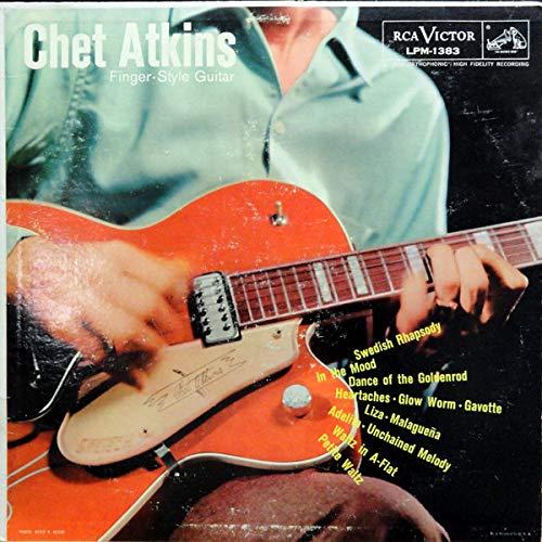 Chet Atkins, Finger-Style Guitar - Vinyl LP