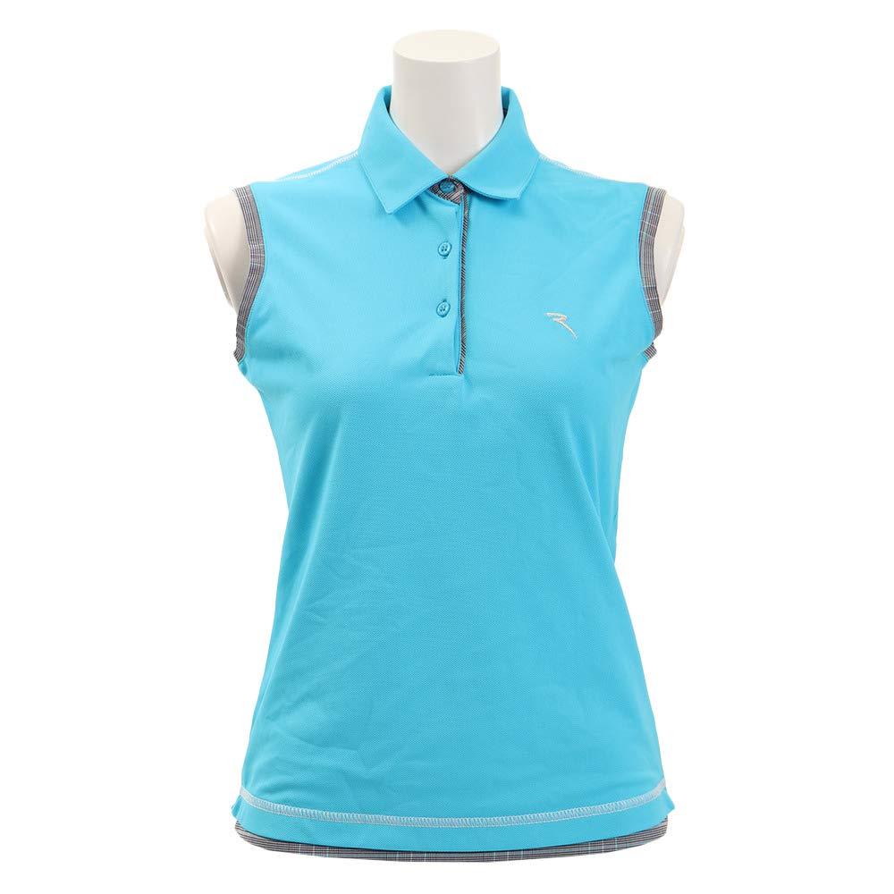 シェルボ(シェルボ) AGAPIE ポロシャツ 032-29573-095 L ブルー B07S9QXZRB
