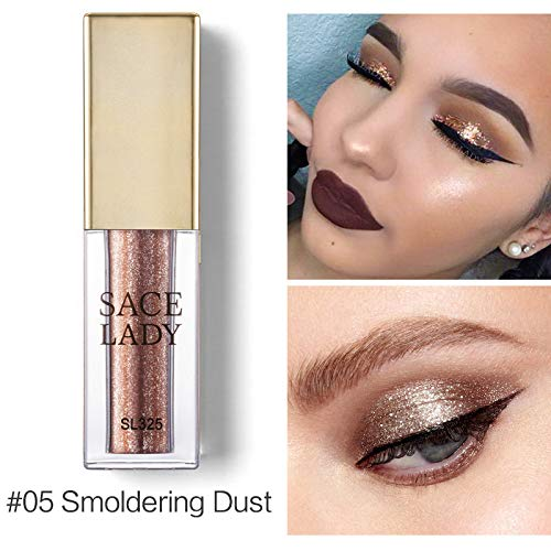 Liquid Eyeshadow Makeup Glitter Shadow Shimmer Eye Shadow Illuminator Make Up Glow Kit Highlighter Cream