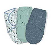 SwaddleMe Original Swaddle 3-PK, Mountaineer, Large