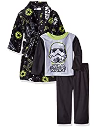 Boys' 2-Piece Pajama Set with Robe