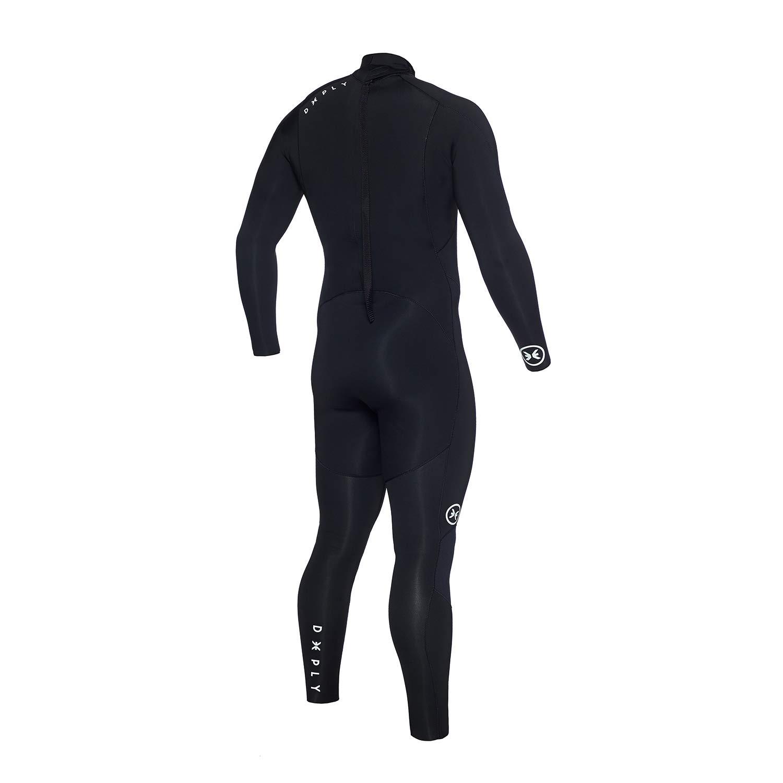 DEEPLY Traje DE Surf Hombre Pure 3/2 Back Zip Talla S: Amazon.es ...