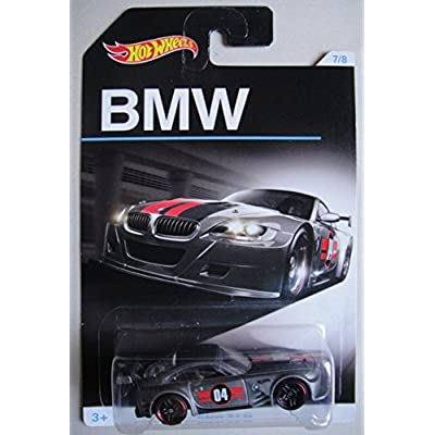 HOT WHEELS BMW SERIES GRAY BMW Z4 M 7/8: Toys & Games