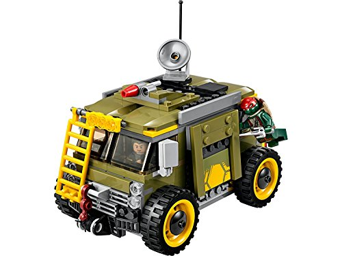 Amazon.com: Lego Mutant Ninja Turtles Turtles van takedown ...