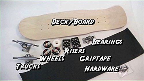Baker Brand Logo Checkered Skateboard Deck -7.75 Red/White/Navy DECK custom assembled as COMPLETE SKATEBOARD
