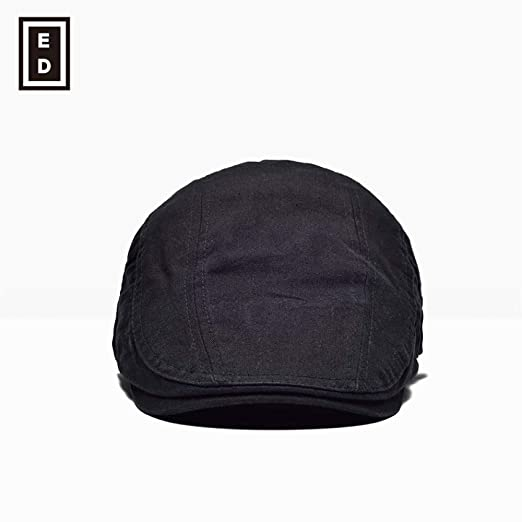 sdssup Gorra Gorro Boina Transpirable Sombrero Negro Ajustable ...