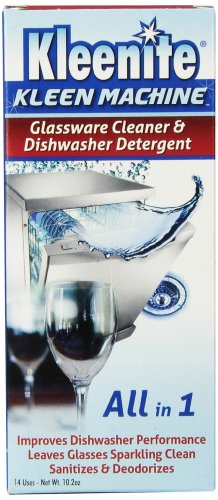 Regent Labs Kleen Machine Glassware Cleaner and Dishwasher Detergent, 10.2 Ounce