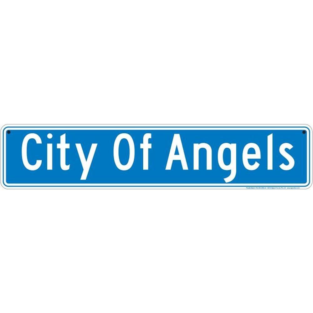 Signs 4 Fun SSLA2 City of Angels Street Sign