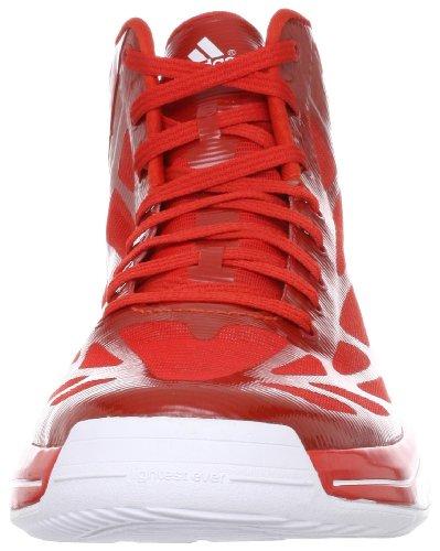 Bianco 2 rosso Adizero Scarpe Light Adidas Crazy wFx6zpnZ