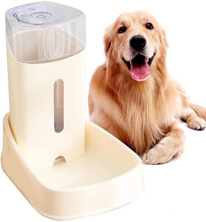 Lancei Dispensador Automático de Agua para Gatos 3.8L, Bebederos para Perros, Bebederos Automáticos Y Alimentador de Alimentos, Suministros de Riego: Amazon.es: Productos para mascotas