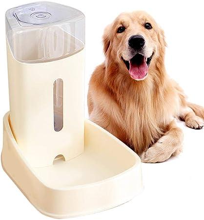 AILHL Bebedero Automático para Mascotas, Alimentador De Agua para Gatos, Gran Capacidad 3.8, Lavabo para Perros con Sifón, Diseño Transparente, Gato Y Perro Universal: Amazon.es: Hogar