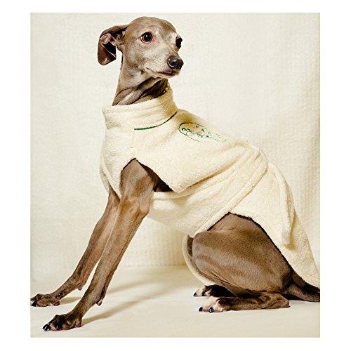 Yap Dog Fashion 100% Cotton Dog Bathrobe (Medium)