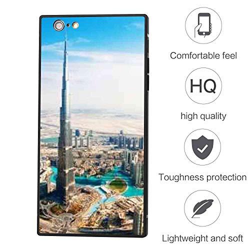 BesteeCase Compatible with Apple iPhone 6 (2014) & iPhone 6S (2015) (4.7-Inch) Dubai Attractions Burj Khalifa (Dubai 2015)