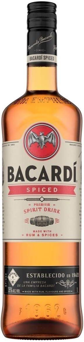 Bacardi Spiced Rum Spirit 1 Litre: Amazon.es: Alimentación y ...