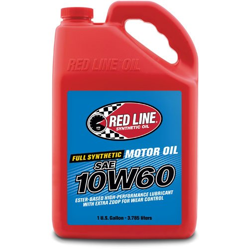 Red Line 11705 10W60 Motor Oil - 1 Gallon, 128. Fluid_Ounces Each Redline Synthetic Oil