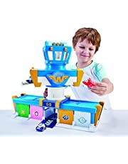 Super Wings Airport Adventures Transform-A-Bots Playset