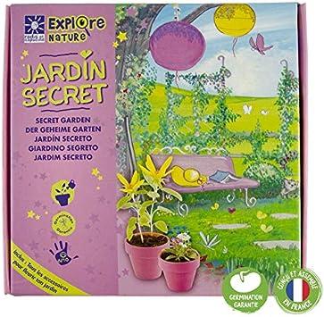 Coffret mi jardín secreto: Amazon.es: Jardín
